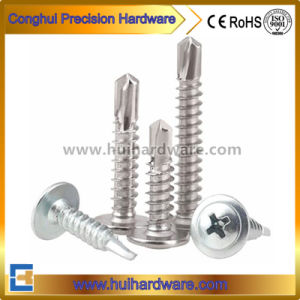 Modified Truss Head Wafer Type Self Drilling/Tapping Screws pictures & photos