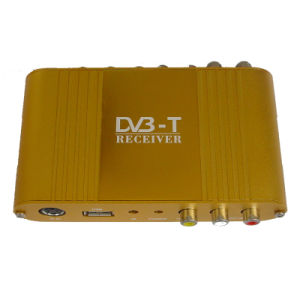 DVB-T Digital TV Receiver for Car Use (Dib9090Mx2) (DTR-1207EU)
