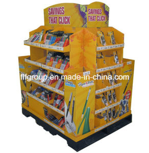Paper Counter Display, Promotion 4 Color Printing Cardboard Display Stand pictures & photos