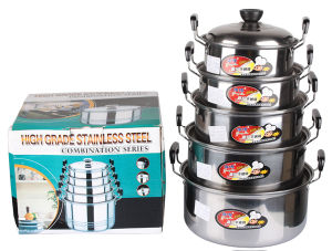 American Style Stainless Steel Cooking Ware Set pictures & photos