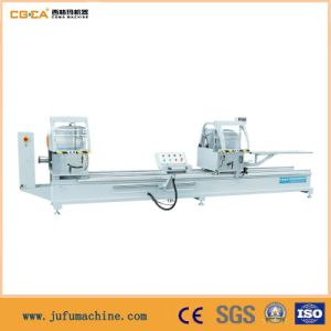 Double-Head Cutting Saw of Aluminum PVC Window Profile pictures & photos