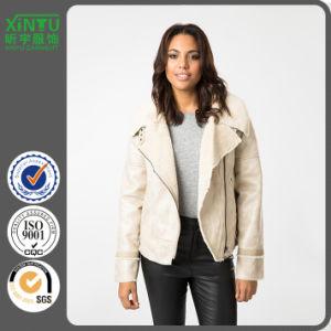2016 Winter Beige Fashion Jacket Women Winter pictures & photos