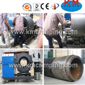 6inch Crimping Machine Km-91f for MID East Market pictures & photos