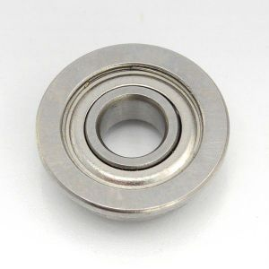 F6901 2RS Flanged Deep Groove Ball Bearing with Shoulder pictures & photos