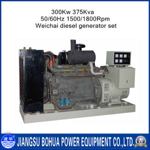 375kVA Silent Weichai Genset (Generator Set) with CE Certification