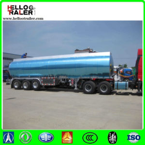 42000 Liter Mirror Aluminium Oil Tanker for Sale pictures & photos