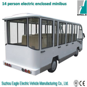 14 Seater Electric Shuttle Personnel Carrier (EG6158KF, 14-Seater) pictures & photos