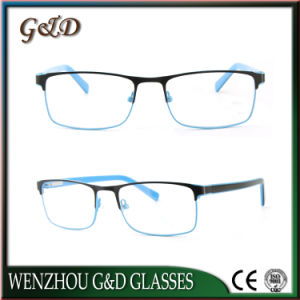 Fashion Popular Metal Eyeglass Eyewear Optical Frame 52-070 pictures & photos