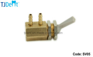 Dental Unit Accessory Spare Part Master Copper Water Supply Switch Valve (SV05) pictures & photos