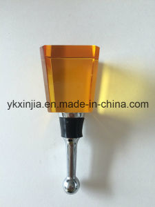 Kitchenware Exquisite Crystal Glass Wine Stopper pictures & photos