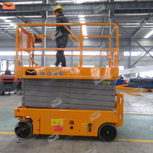 10m Battery Hydraulic Lift Machine for Maintenance pictures & photos