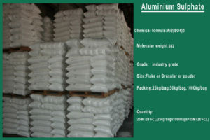 Best Price and Quality Aluminium Sulfate for Use in Water Treatment pictures & photos