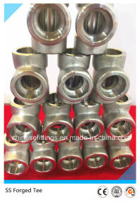 ANSI A182 Female Forged Fittings Stainless Steel Pipe Fittings pictures & photos
