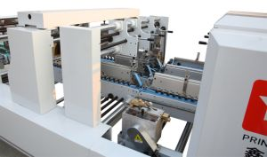 Lock Bottom /Corrugated Box Folder Gluer Machine pictures & photos