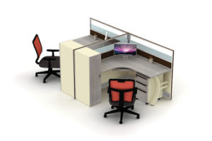 Modern Office Table. Office Partition (FP069D-2)