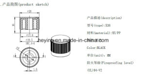 Heying Excellent Quality Electric Switch Knob Button pictures & photos