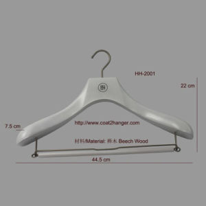 Luxury Wooden Clothing Hanger pictures & photos