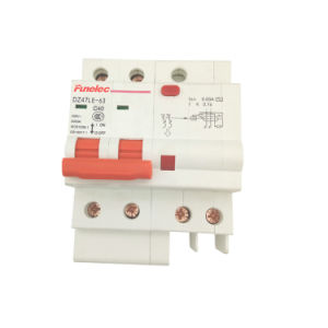 Dz47le-63 Electronic Type RCBO Residual Current Circuit Breaker with Over Load Protection