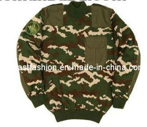 Camouflage Sweater/Military Sweater /Pull Over Outdoor Sweater