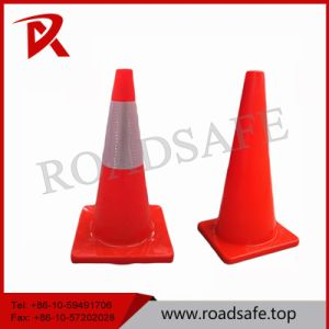Fluorescent Orange Soft Flexible Safety Colored Inflatable PVC Traffic Cone pictures & photos