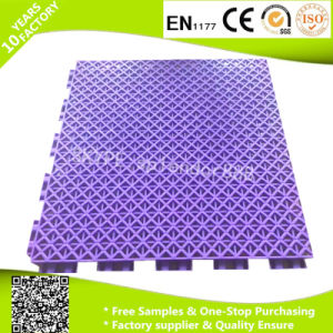 Outdoor Interlocking Basketball Court PP Interlocking Flooring pictures & photos