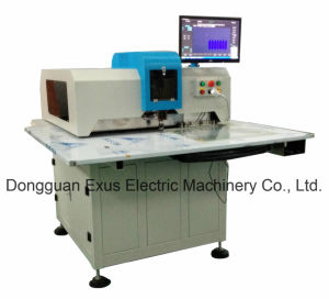 CNC Leather Hole Punching Cutting Machine of Shoe/ Handbag/ Leather Seats pictures & photos