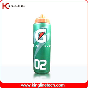 Plastic Sport Water Bottle, Plastic Sport Water Bottle, 1000ml Plastic Drink Bottle (KL-6122) pictures & photos