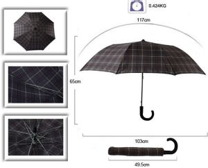 20 Inch Foldable Men Umbrella pictures & photos