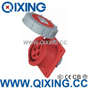 IP67 Flange Female Socket by Cee Standard (QX-222) pictures & photos