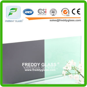 Light Green Paint Mirror/Coated Glass Mirror/Colored Lacquered Glass pictures & photos
