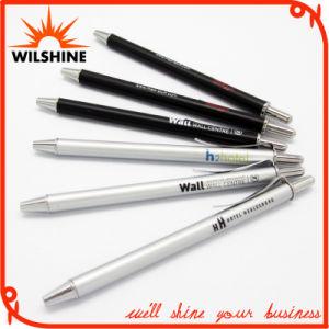 Mini Metal Ball Pen in Satin Silver Color (BP0103) pictures & photos