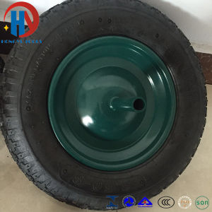 Wheel Barrow Pneumatic Rubber Wheel Tyre 3.50-8 pictures & photos