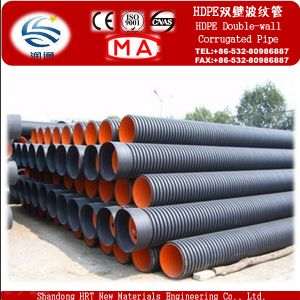 High Quality Polythene Double Wall Corrugated Pipe pictures & photos
