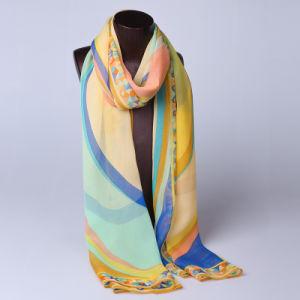 2016 Top Sale Fashion Printed Silk Scarf Ss1015
