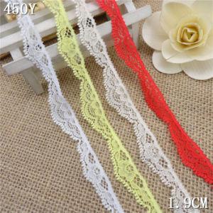 2cm More Colors Strentch Tricot Lace Trim for Decorations pictures & photos
