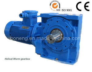 Boneng Right Angle Helical Worm Gearbox (BN-S02) pictures & photos