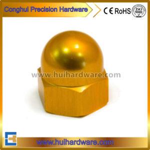 Aluminum Hex Cap Nut, Titanium Hex Acorn Nut Supplier pictures & photos