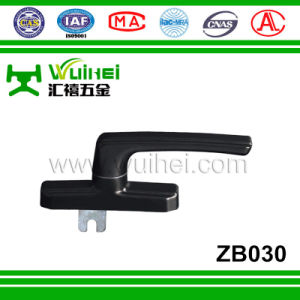 Aluminium Alloy Layer with Zinc Alloy Base Window Handle in Die Casting Material (ZB030) pictures & photos