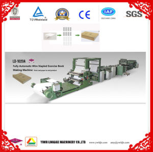LD-1020 Fully Automatic Exercise Book Making Machine Notebook Making Line pictures & photos
