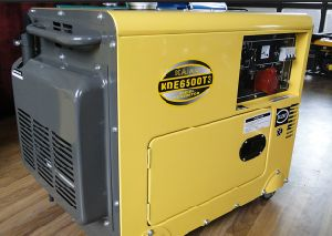 Silent Diesel Generator 5KW 3phase pictures & photos