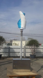 Made in China OEM Manufacture Small Wind Generator Wind Turbine 300W 400W Single-Bladed Maglev Design Vertical Axis pictures & photos