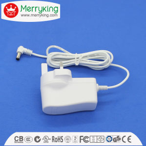 24V650mA DC Power Adapter 15.6W AC DC Adapter with UK Plug pictures & photos