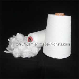 Polyester Spun Yarn Ne40/1 Knitting Yarn for Polyester Fibric pictures & photos