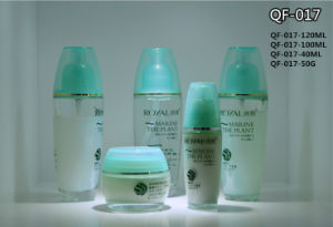 China Popular Design Cosmetic Plastic Lotion Bottles with Screw Cap pictures & photos