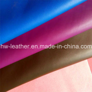 Anti-Abrasion Microfiber PU Leather for Furniture, Shoes, Car Seat (HW-991) pictures & photos