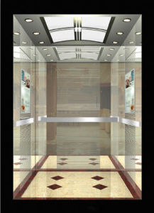 Machine Room Traction Types Luxury Passenger Elevator pictures & photos