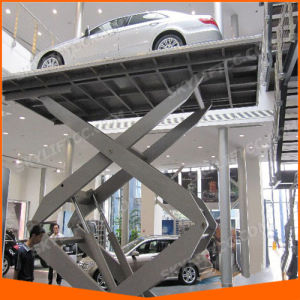 3.5m 3ton Hydraulic Electric Car Scissor Lift pictures & photos