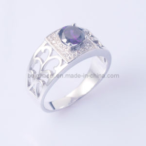 925 Sterling Silver Ring with Cubic Zirconia Stone pictures & photos
