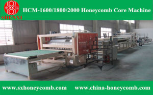 Hcm-1800 Honeycomb Core Making Machine Line pictures & photos