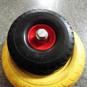 Flat Free Wheelbarrow Wheel 360mm pictures & photos